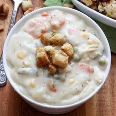 Thanksgiving Turkey and Mashed Potato Chowder Recipe Soups with turkey ...