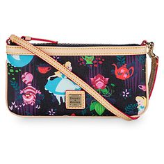 Alice in Wonderland Leather Slim Wristlet by Dooney & Bourke | Disney Store