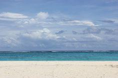 마나가하섬의 해변과 바다, 그리고 하늘