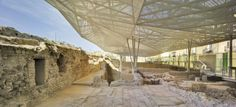 amann-cánovas-maruri | Copertura del Parco Archeologico del Molinete