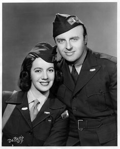 Conductor Andre Kostelanetz and soprano opera star Lily Pons, who were married, performed for Allied soldiers all over the world.