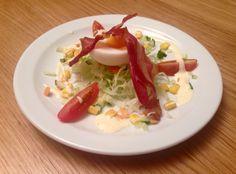 Ski Bonjour's good morning salad!