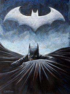 Batman by Guillaume Boetti