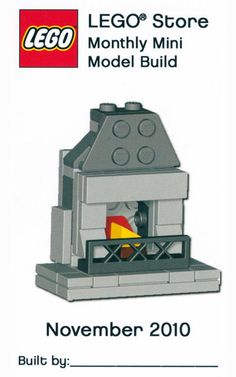 Fireplace Nov 2010 Monthly Mini Model Build