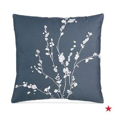 An allover floral accent pillow will elegantly upgrade any bedset. Shop Calvin Klein's accent pillows and more at Macy's!