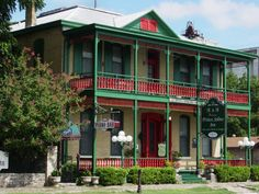 Prince Solms Inn Bed and Breakfast New Braunfels boasts two resident ghosts (we didn't see them during our stay) and a walking-distance location to everything you want to do in town.