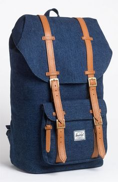 Herschel Supply Co. 'Little America - Denim Collection' Backpack available at #Nordstrom