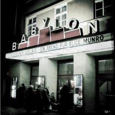 #Literaturnobelpreis: Herzlichen Glückwunsch Alice Munro und dem S. Fischer Verlag! Bild: Ein Abend für Alice Munro im Babylon Kino Berlin, copyright Bild: Kai Lachmann