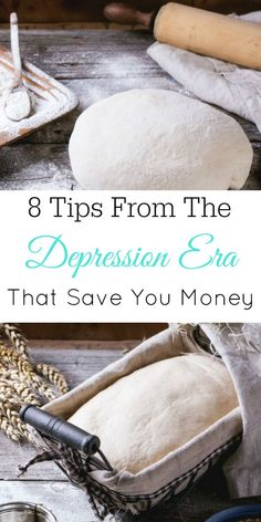 8 Depression Era Tips That Save You Money, The Great Depression, Frugal Living #frugal