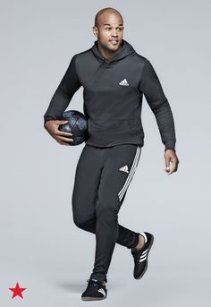 Get in the game with incredible activewear from adidas. A pullover hoodie and sweatpants are perfect for outdoor activities this winter. Click to shop these styles and more from adidas at Macy's.