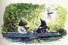 Library Project: The Wind in the Willows