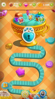 Game Match3 Sweetie Swipe on Behance