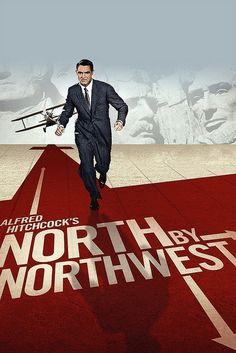 North By Northwest: Cary Grant, Eva Marie Saint, James Mason, Alfred Hitchcock Alfred Hitchcock, Hitchcock Film, North By Northwest, Cary Grant, Cult Movies, Movies To Watch, Drama Movies, Great Films, Good Movies