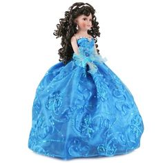 Doll Q2075 Quinceanea Dolls - Free shipping over $60 at www.misquinceano.com
