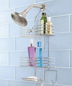 Take a look at this Chrome Shower Caddy by Design Products on #zulily today!