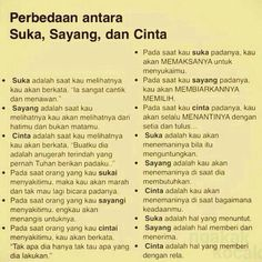 Suka, Sayang & Cinta I know which level it is. Quotes Rindu, People Quotes, Wisdom Quotes, Quotes To Live By, Best Quotes, Love Quotes, Reminder Quotes, Self Reminder, Islamic Inspirational Quotes