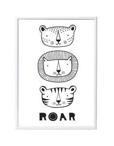 Juliste Roar 50x70cm | tuutilulla
