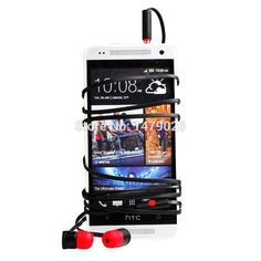 1 piece Headphone Handsfree Max300 Earphones For HTC One M7 ONE2 M8 Butterfly Headset X920e One X5 Deluxe DLX Earpods Free