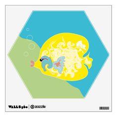 #Yellow #Fish #Room #Graphics