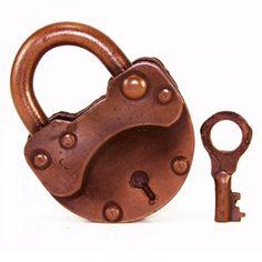 #Chocolate #lock with a key #angelinachocolate