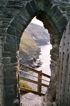 Gate to King Arthurs Castle.