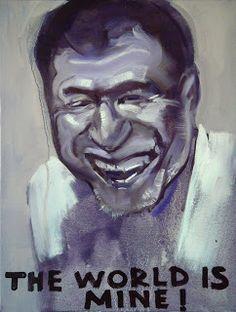 The Krasnals: Roman Abramovich 2; canvas print, 2009/2013, 40 x 52 cm