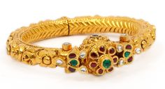 Gold Bangles | Elegant Kundan Bangle