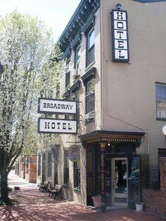Historic Broadway Hotel, Madison, Indiana
