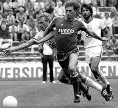 """Klaus """"Auge"""" Augenthaler (born 26 September 1957 in Fürstenzell, near Passau in Bavaria, West Germany) is a former German football player and now manager. In his 15-year club career with FC Bayern Munich, he won seven Bundesliga titles. He also represented the West Germany national team, winning the FIFA World Cup in 1990"""