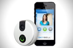 Peepholes have been around for about as long as we can remember, letting you see who's at the door before actually opening it. The team at Skybell decided