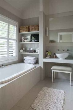32 Unique Bathroom Accessories to add Function and Style to Your Space - The Trending House Big Bathrooms, Bathroom Bath, Family Bathroom, Bathroom Renos, Amazing Bathrooms, Small Bathroom, Bathroom Ideas, Upstairs Bathrooms, Downstairs Bathroom