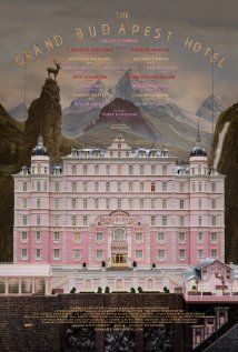 The Grand Budapest Hotel (2014) Directed by Wes Anderson.  Starring Ralph Fiennes, F. Murray Abraham, Mathieu Amalric, Adrien Brody, Willem Dafoe, Jeff Goldblum, Harvey Keitel, Jude Law, Bill Murray, Edward Norton, Saoirse Ronan, Jason Schwartzman, Lea Seydoux, Tilda Swinton, Tom Wilkinson, Owen Wilson, and introducing Tony Revolori as Zero.