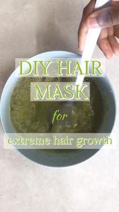 The best hair mask to grow hair using Qasil Powder. Home Remedies For Hair, Hair Remedies, Hair Fall Remedy, Natural Hair Care, Natural Hair Styles, Natural Beauty, Hair Mask For Growth, Masks For Hair, Dry Hair Mask