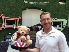 Charlie and Beau the bear