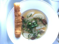 https://flic.kr/p/PpPmBN   Mooli Soup and Fried Dough Stick