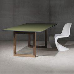 SC 25 Tisch (HPL farbig / Holz) von Janua | dieter horn