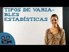 Tipos de variables estadísticas - Probabilidad y estadística - Educatina…