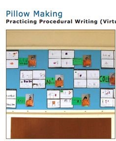 Practicing Procedural Writing!  Another great activity from the Balanced Literacy Diet where students are able to put their procedural writing skills into use! This activity is great because students are using practical skills integrated with literacy. I especially like that you can adapt this activity and get students to write a procedure about anything that they make in class.