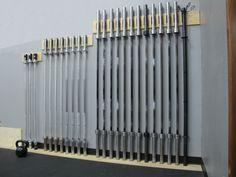 Barbell rack http://boxbeast.com/barbell-racks.jpg