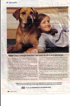 Rhodesian Ridgeback saves girl. Awesome story. Thinking this man should be in jail for ever or just killed.
