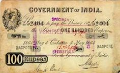 Article From Karthik Here are some old currencies India used before its Independence. The first set of British India notes were the 'Vic. History Of India, British History, World History, Art History, India Facts, Old Coins, Rare Coins, History Facts, Evolution
