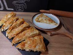 Τυρόπιτα με φύλλο κρούστας French Toast, Bread, Breakfast, Food, Pie, Morning Coffee, Brot, Essen, Baking