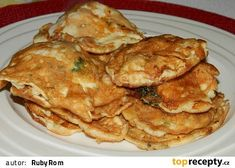 Fish Recipes, Cauliflower, Pancakes, Meat, Chicken, Vegetables, Breakfast, Fish Food, Kochen
