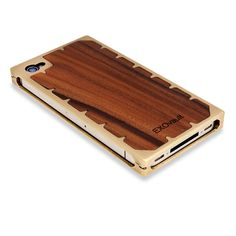 brass and wood iphone case  my wood case is looking pretty shabby these days...