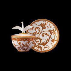 Prouna   Hestia Covered Tea Cup And Saucer