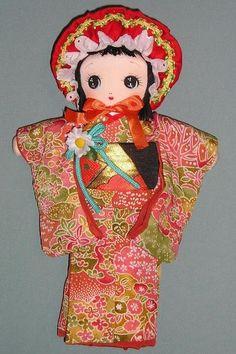 今日の新作は「文化人形」 - tikutiku time