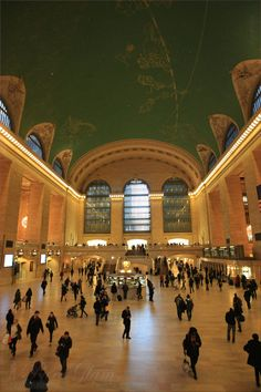 New York City – inside beautiful #Grand Central #Station