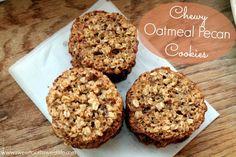Flourless Oatmeal Pecan Cookies - SOO good!! | Sweet Tooth, Sweet Life