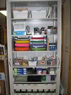 Great craft room closet style