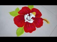 Indian Rangoli Designs, Rangoli Designs Flower, Colorful Rangoli Designs, Flower Rangoli, Beautiful Rangoli Designs, Mehndi Designs, Ganesh Rangoli, Ganesha, Rangoli Designs For Competition